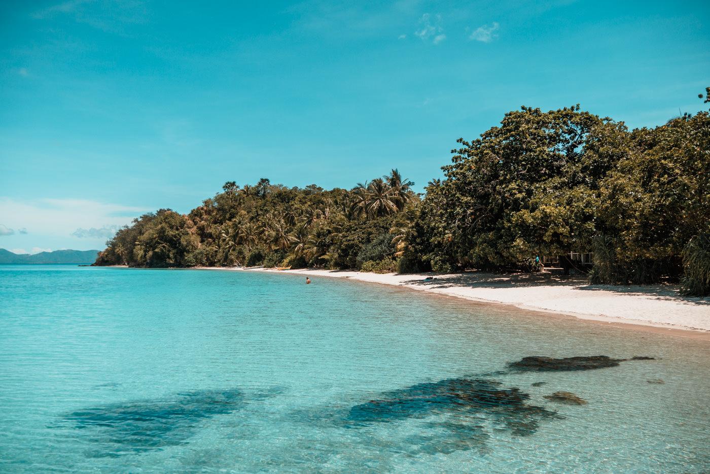 Tiamban Beach auf Romblon Island, Philippinen