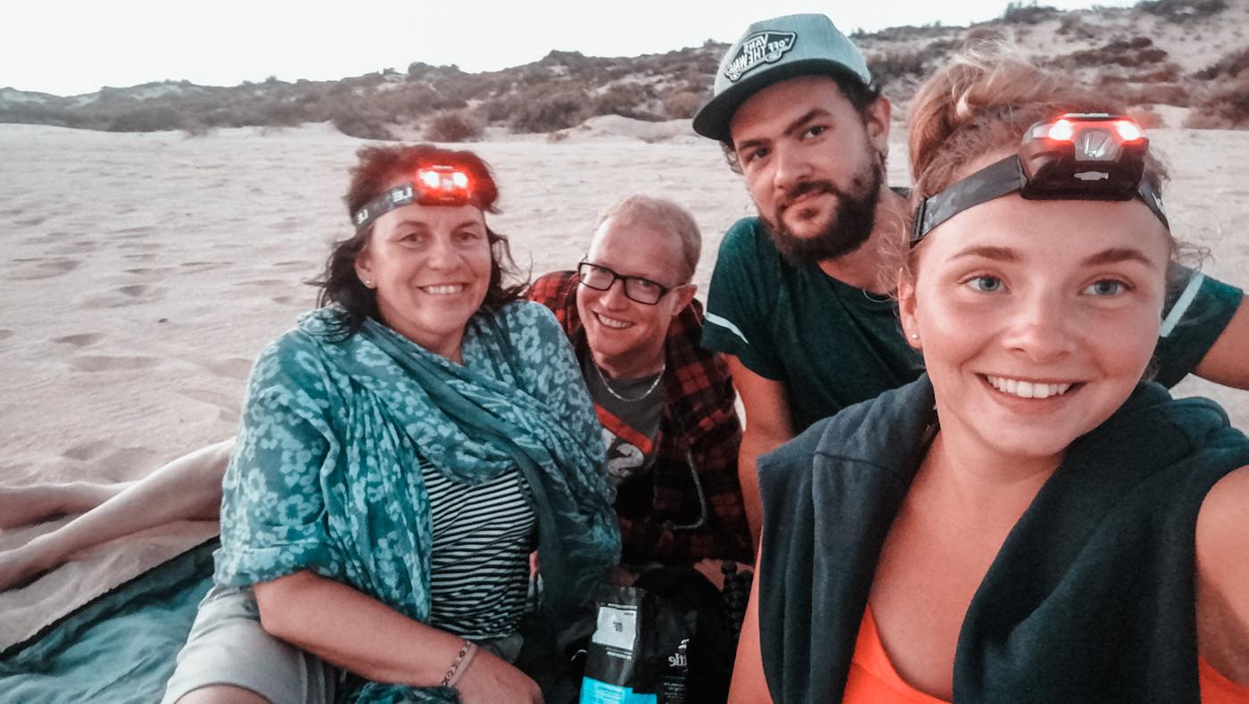 Wir warten auf Schildkröten am Cape Range