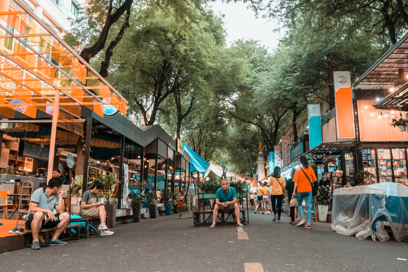 Bookstreet in Ho Chi Minh City