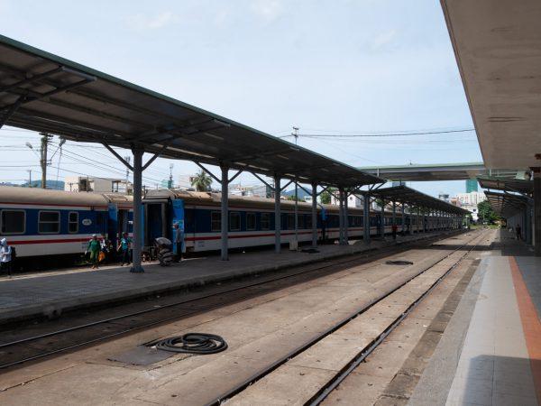 Bahnhof in Da Nang, Vietnam