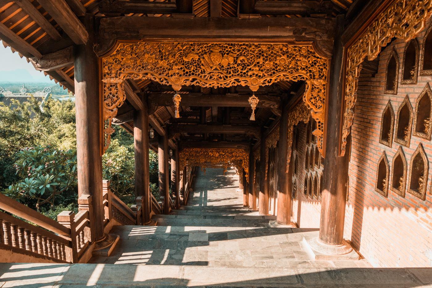 Bai Dinh Pagoda bei Ninh Binh in Vietnam