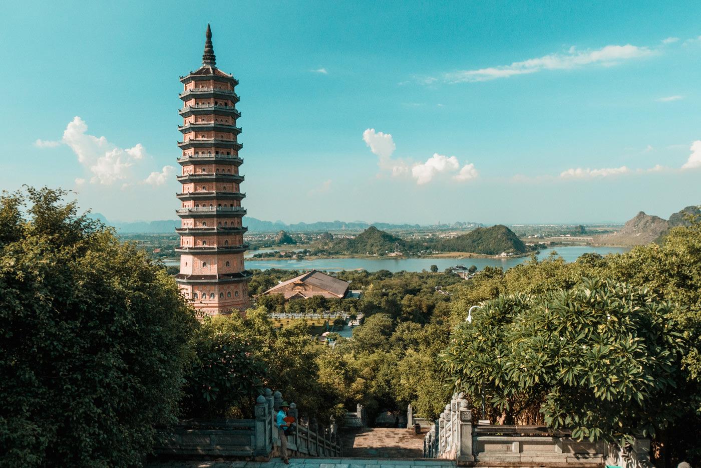Bai Dinh Pagode bei Ninh Binh, Vietnam