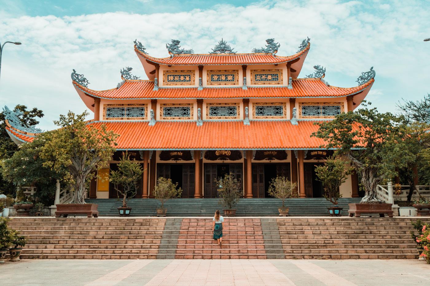 Buddhistischer Tempel bei Da Nang