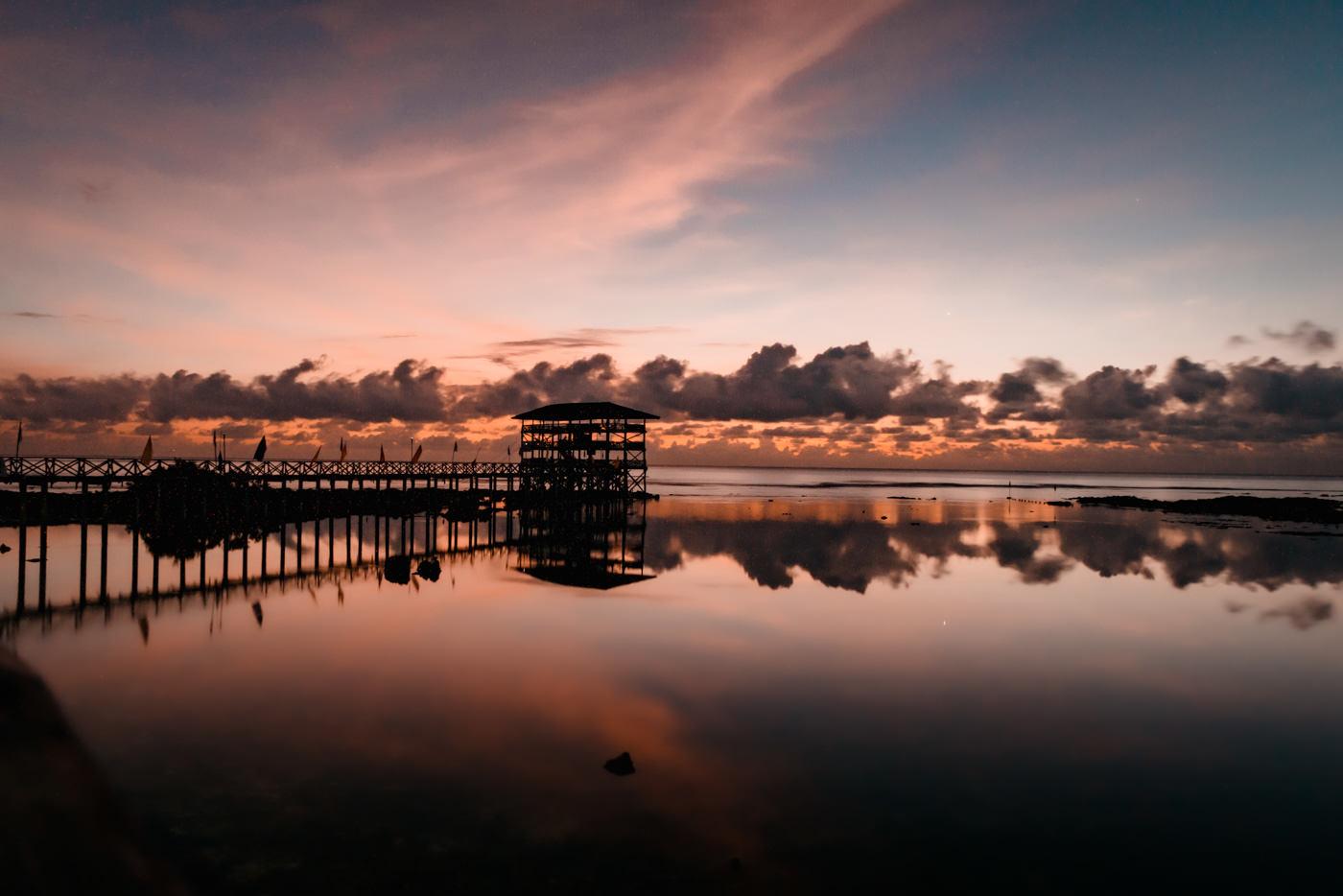 Boardwalk Cloud 9 auf Siargao
