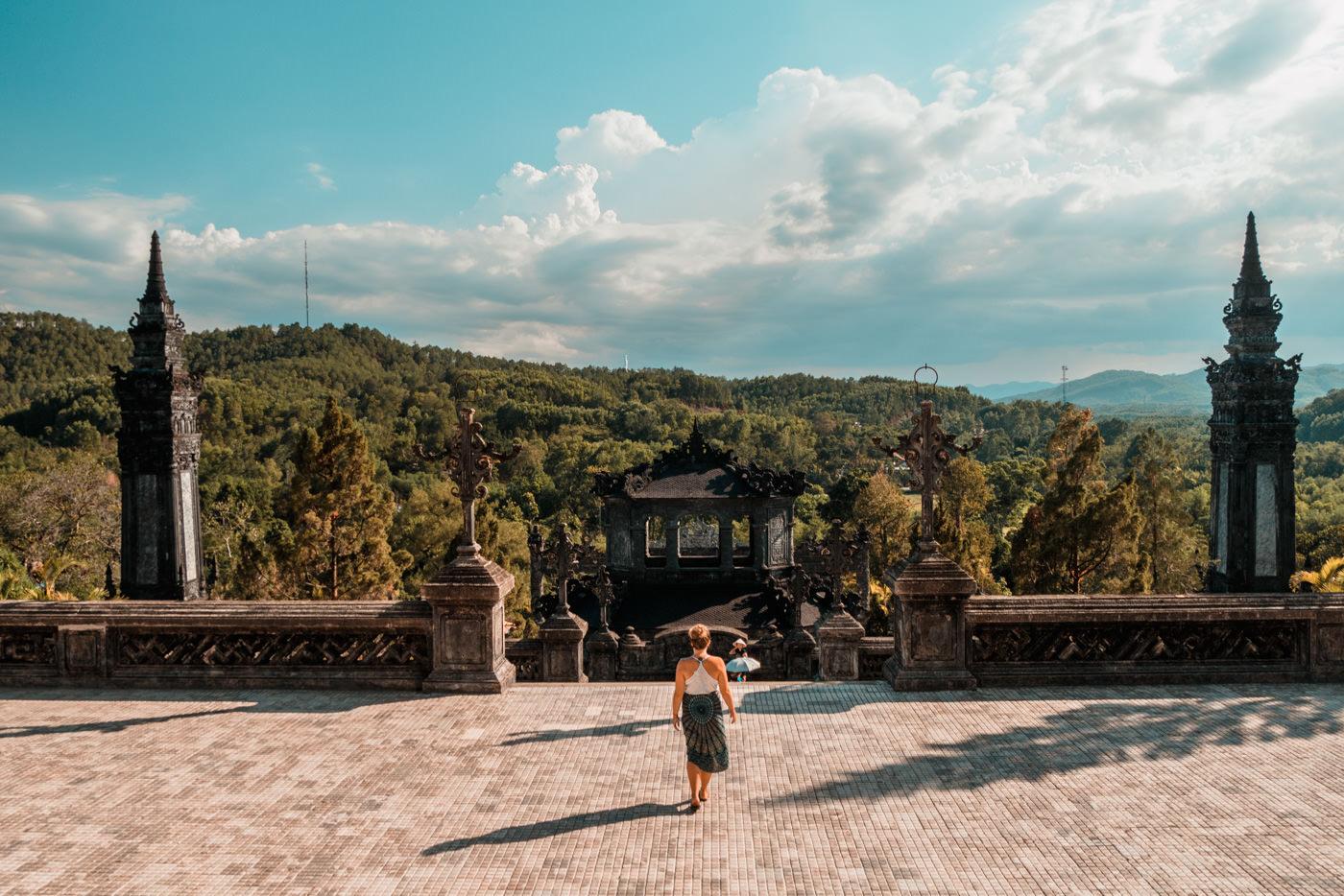 Grabstätte Khai Dinh King bei Hué