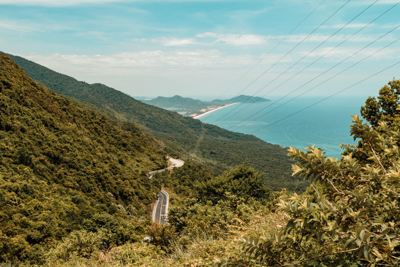 Hai Van Pass bei Da Nang, Vietnam