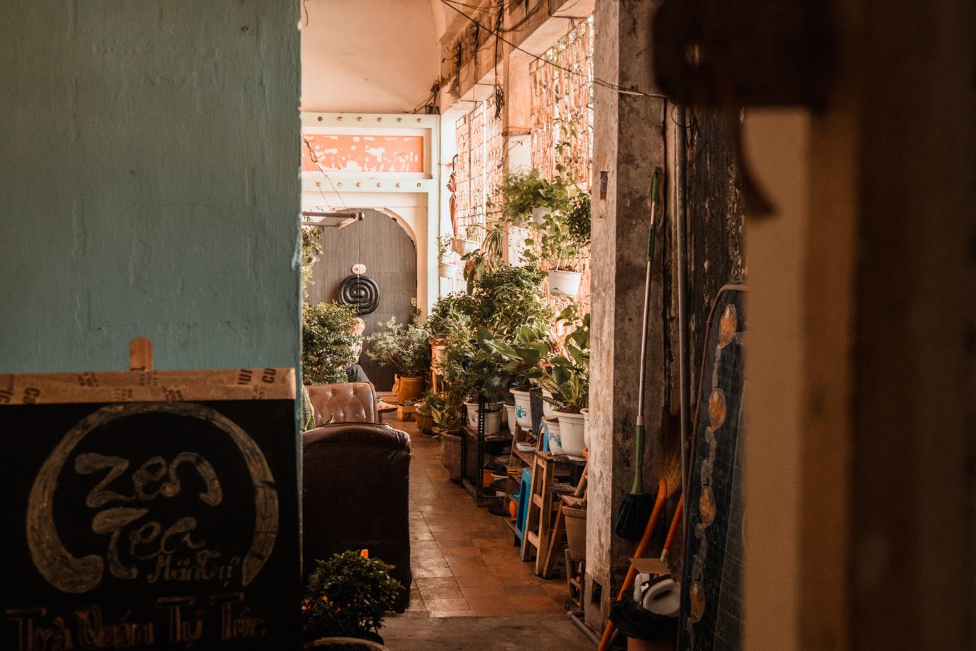 Einblick in ein Gebäude in Ho Chi Minh City