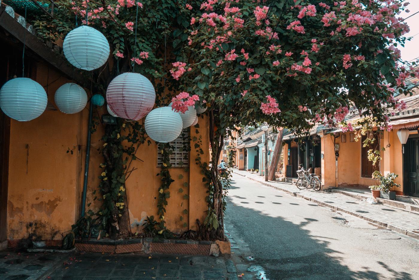 Lampions in der Altstadt von Hoi An