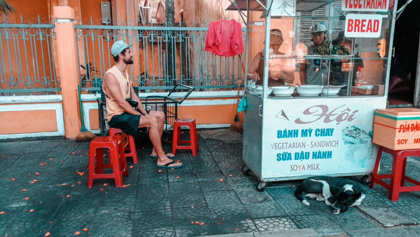 Veganes Banh Mi in Hoi An