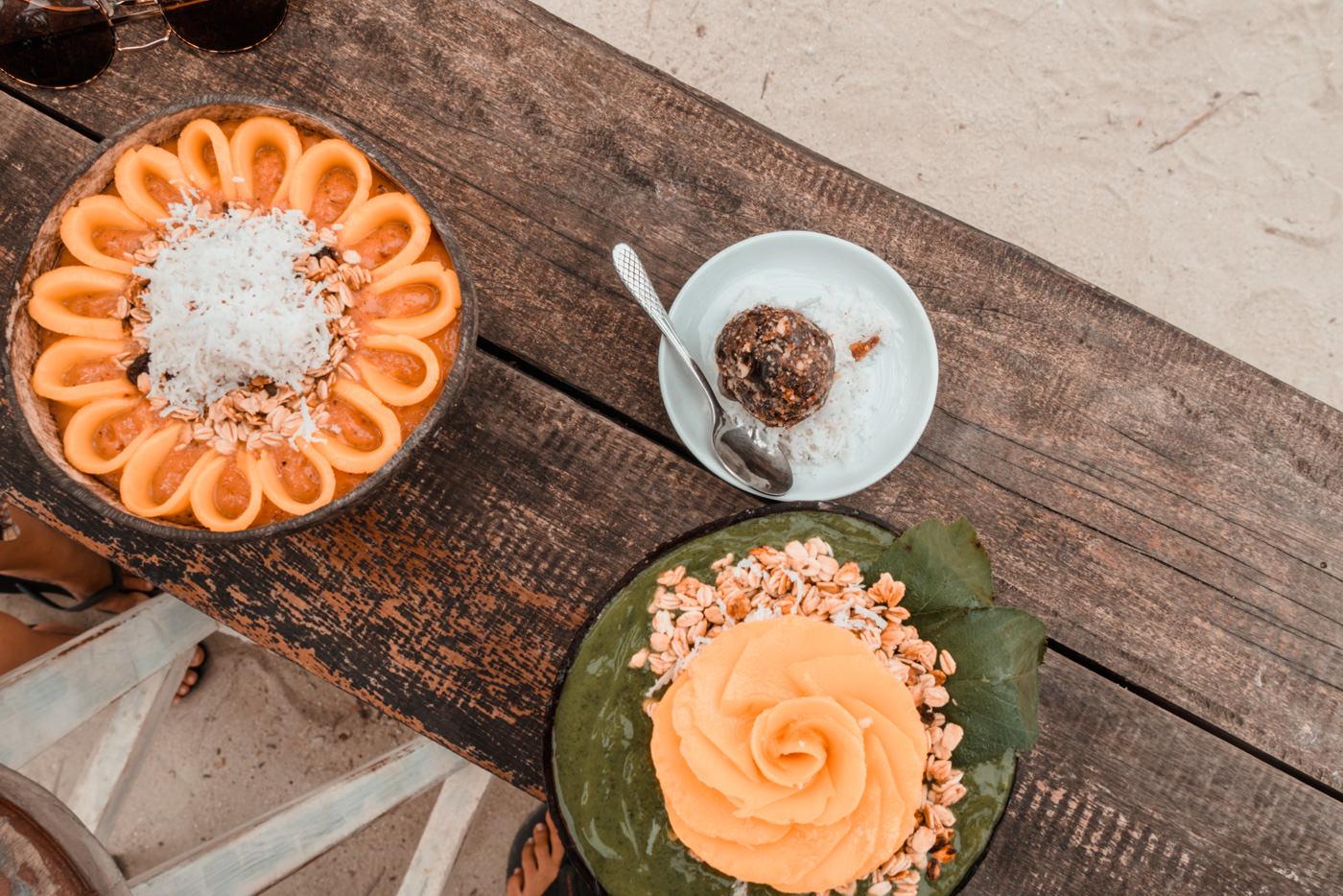 Smoothiebowl im Shaka Café auf Siargao
