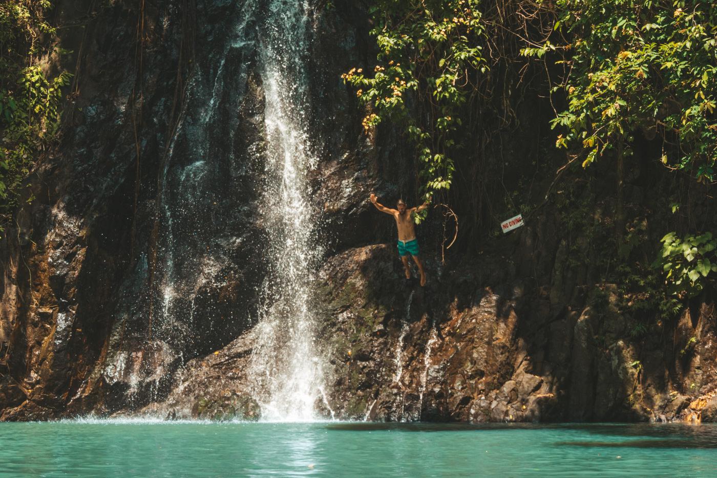 Tak Tak Wasserfall auf Siargao, Philippinen
