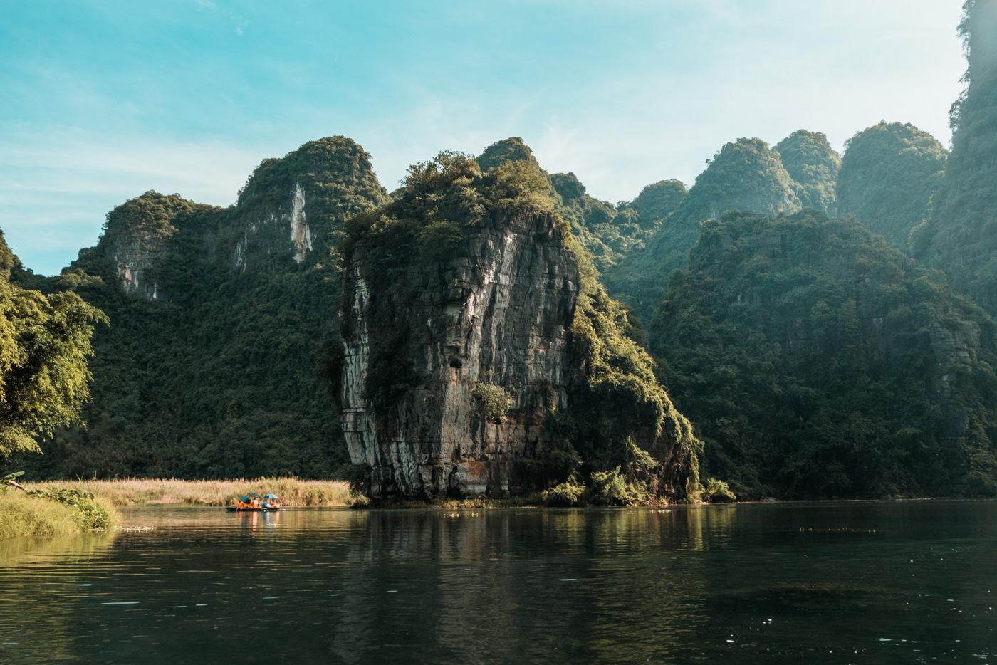 Bootsfahrt von Trang An in der Ninh Binh Region