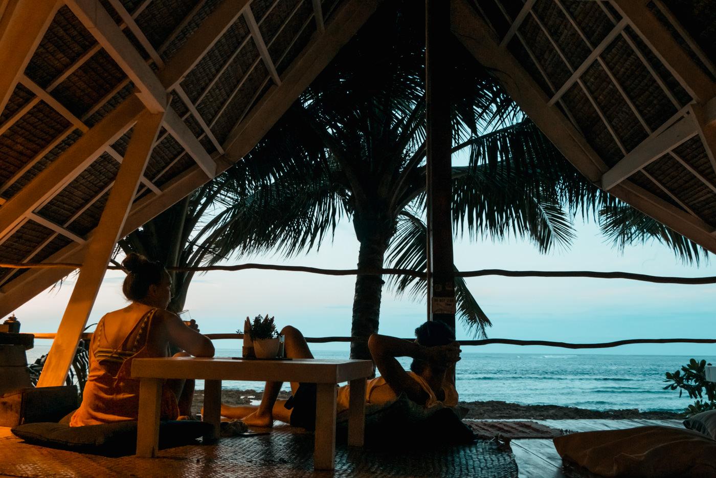 White Banana Beachclub auf Siargao, Philippinen