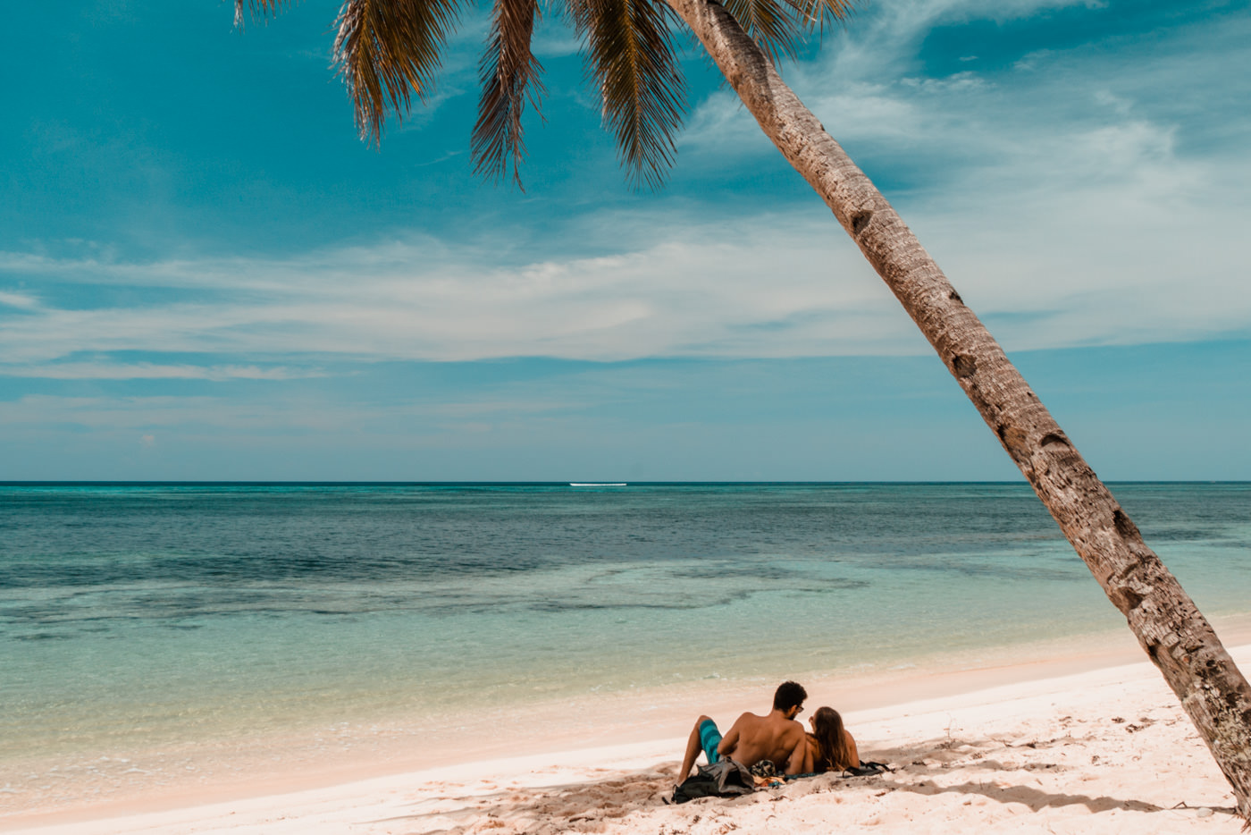 Wir am Alegria Beach auf Siargao, Philippinen