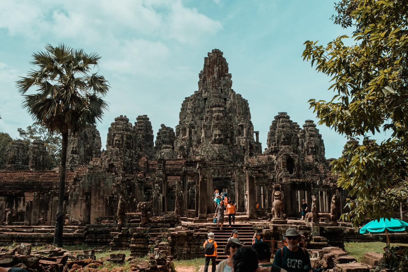 Blick auf Angkor Thom