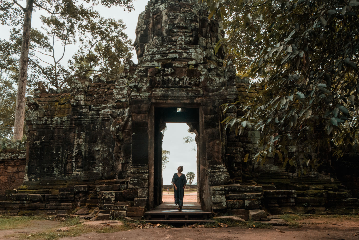 Eingang Banteay Kdei, Angkor Wat, Kambodscha