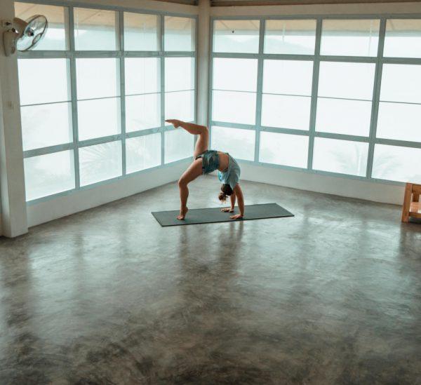 Jetzt bin ich also Yogalehrerin