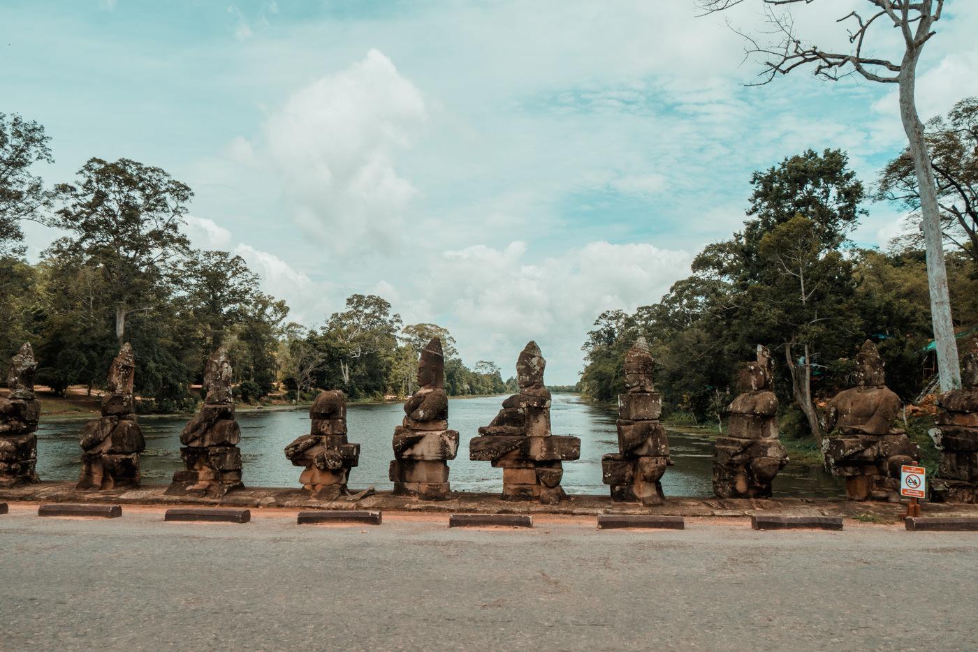 South Gate, Angkor Wat Kambodscha