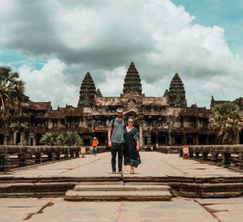 Die Tempelanlagen von Angkor in Kambodscha