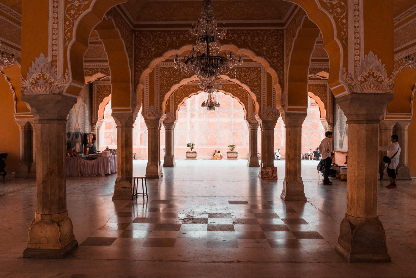 Diwan e-Khas im CIty Palaca Jaipur