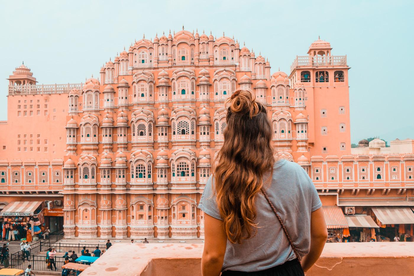 Hawal Mahal in Jaipur, Indien