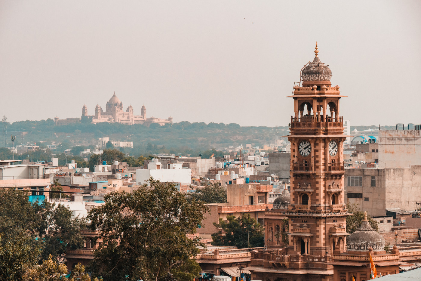 City Palace und Clock Tower von Jodhpur