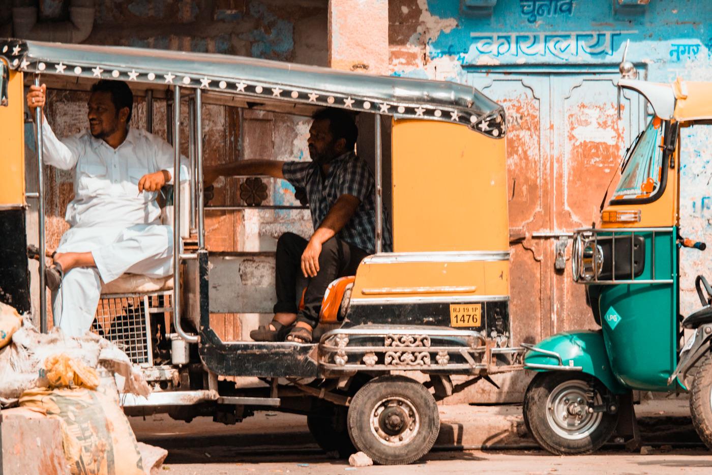 Rikschafahrer in Jodhpur